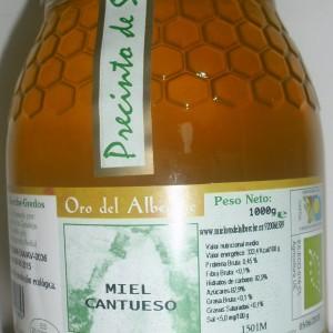 miel de cantueso 1 kg